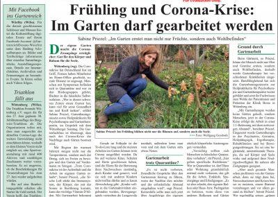 Artikel im Wittenberger Supersonntag