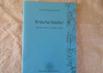 blaue Broschüre